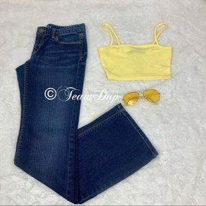 Ann Taylor Loft Curvy Boot Jeans Sz 26/2